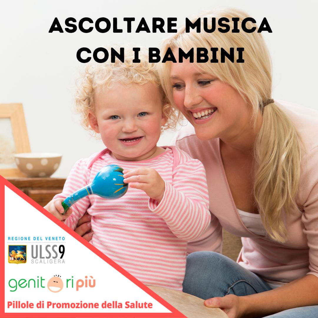 ascoltare musica con i bambini